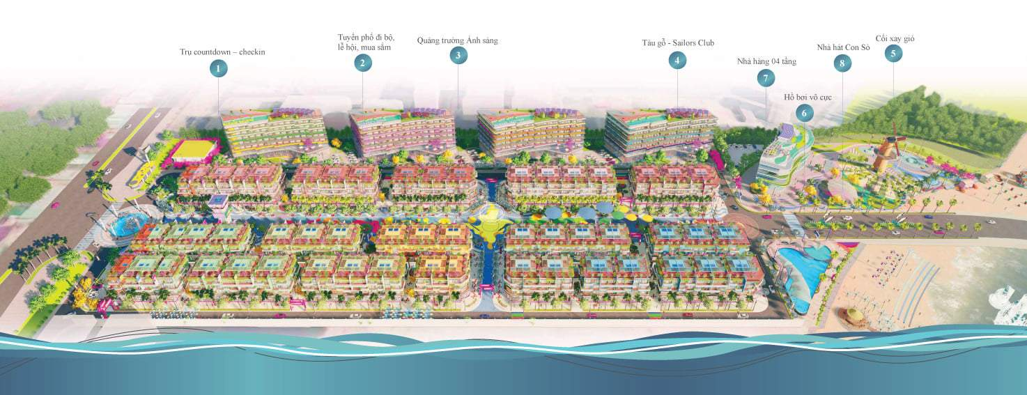 Tiện ích Shophouse Selavia Bay Phú Quốc