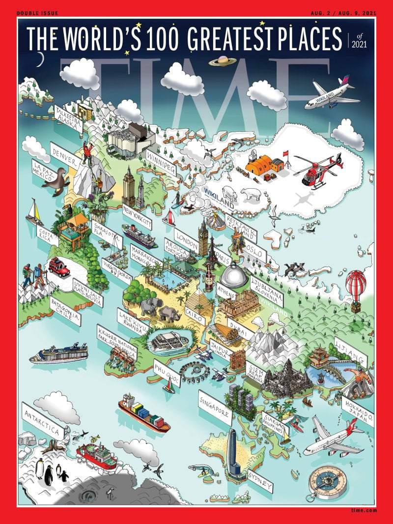 THE WORLD'S GREATEST PLACES OF 2021 Cover  - TIME-Phu_Quoc_Cover - TP.HCM, Phú Quốc vào top 100 điểm đến tuyệt vời nhất
